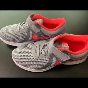 Nike Shoes - Girls Nike Revolution 4 Athletic Shoes